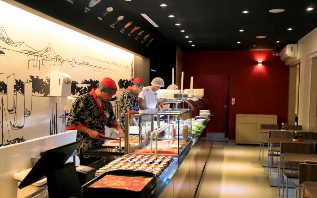 franquias de comida restaurante japonês