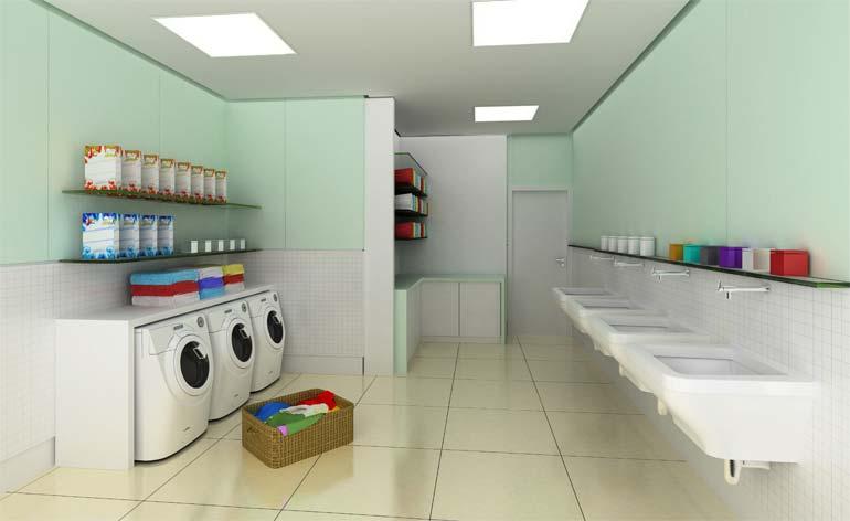 franquia de lavanderia