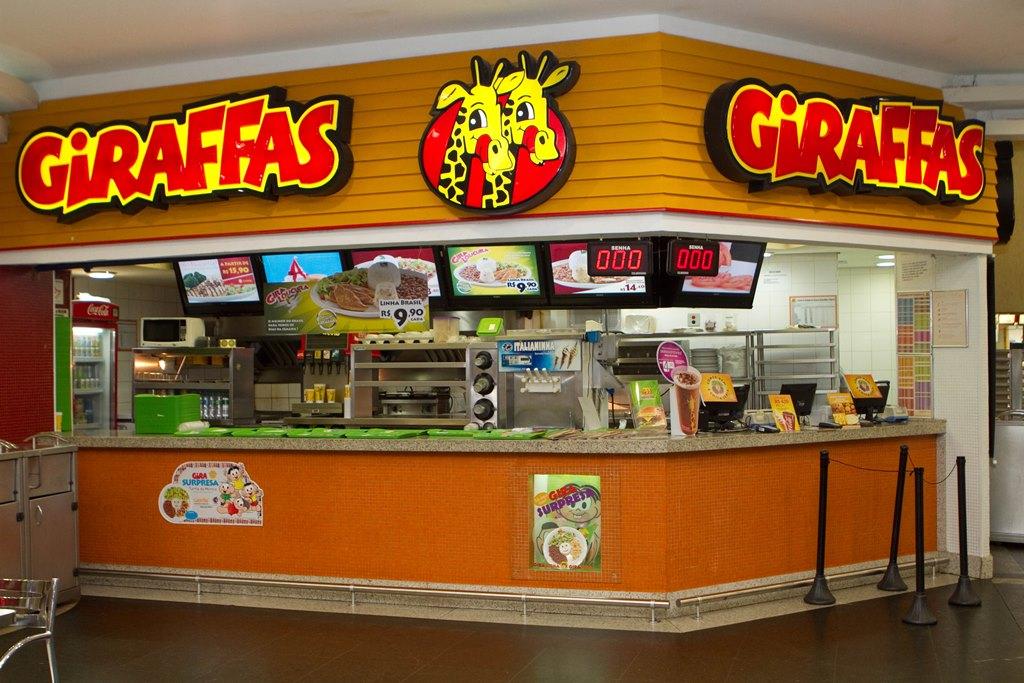 Giraffas direciona estratégia de negócios para expansão em aeroportos e rodoviárias