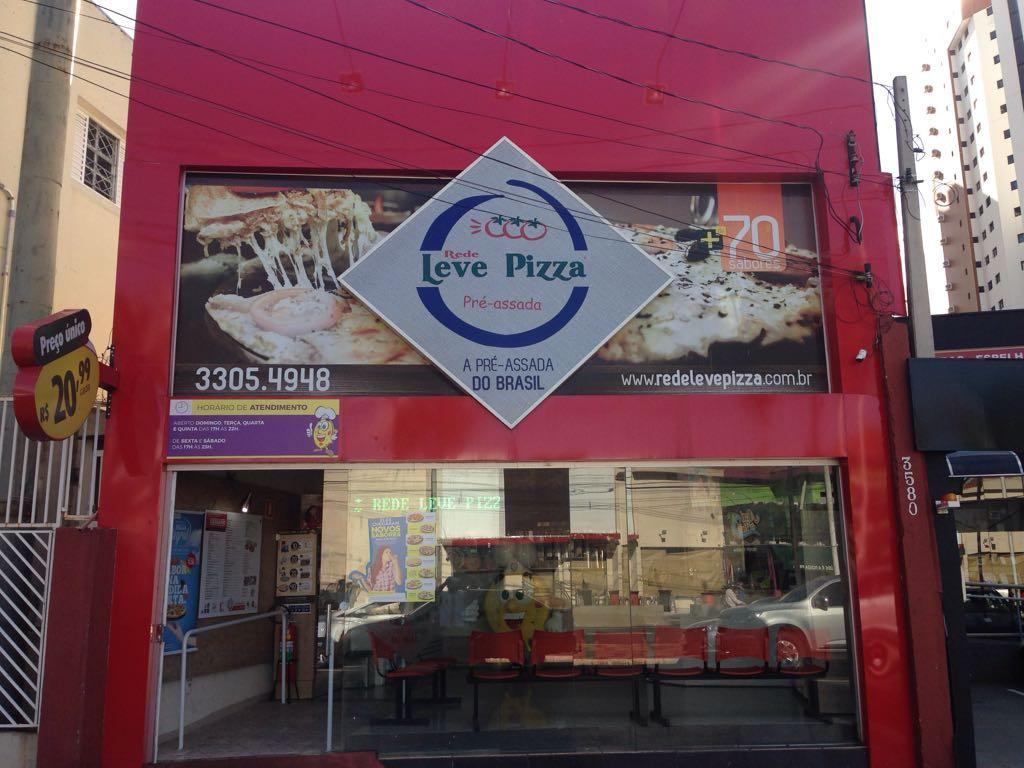 Franquia Leve Pizza apresenta boas vendas no interior paulista
