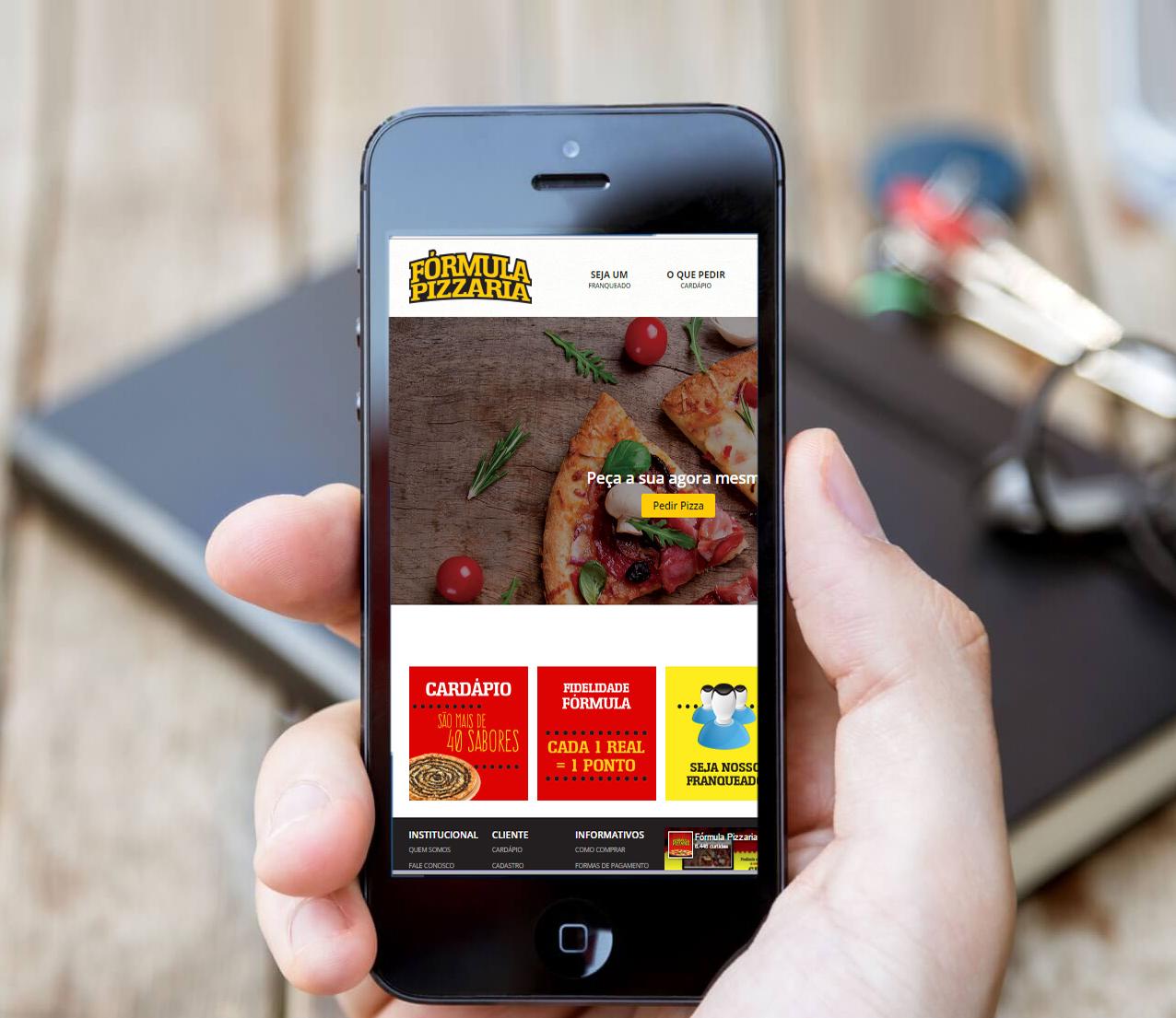 Pedido de pizzas por aplicativo atrai cada vez mais novos consumidores