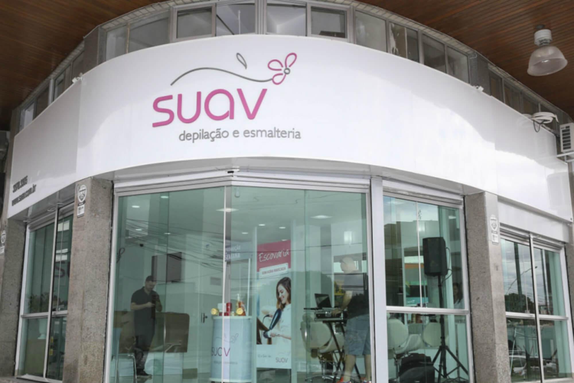 mercado de estética - franquia SUAV