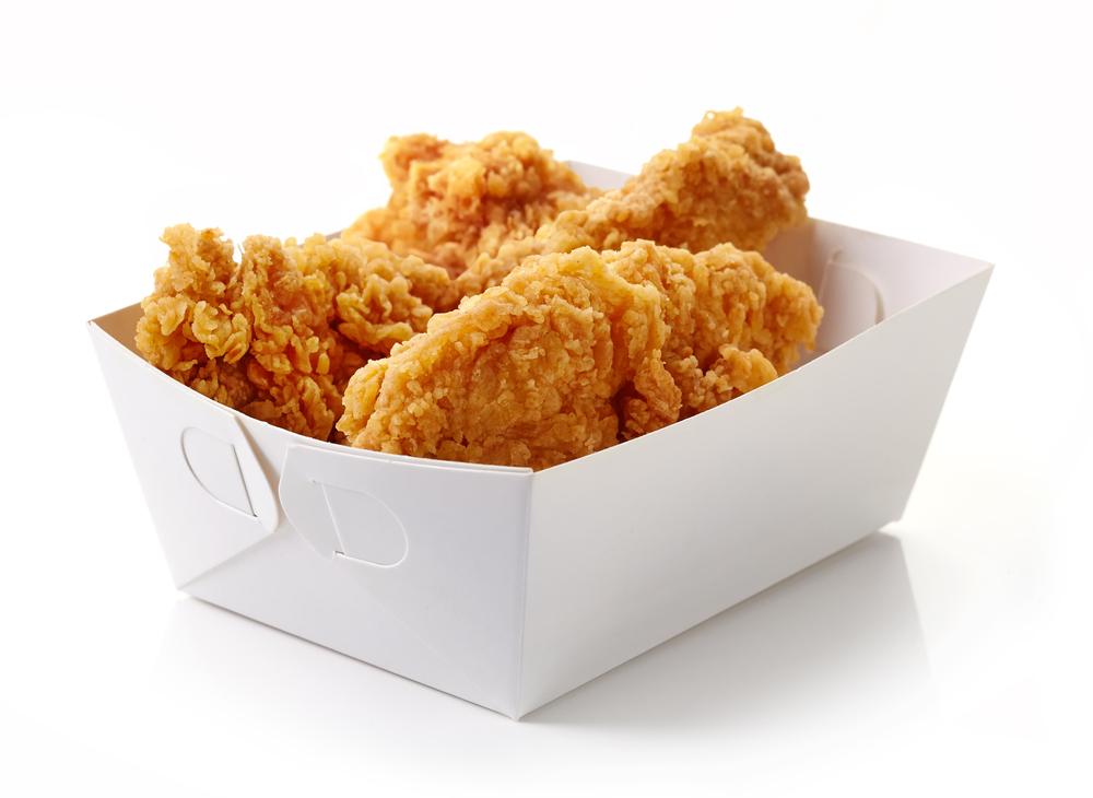 imagem frango frito no balde