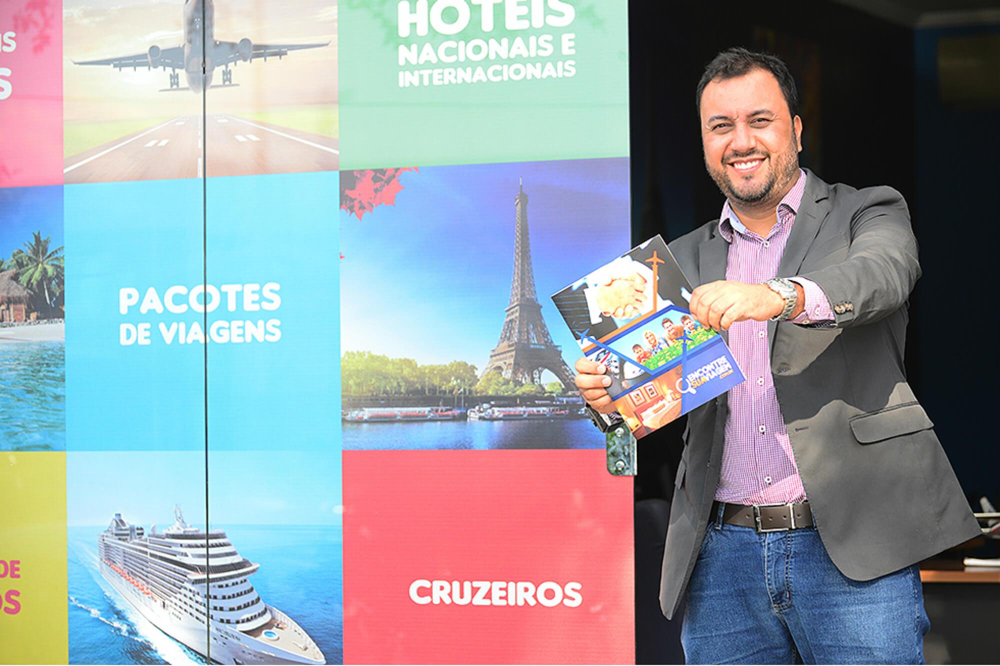 franquia de agencia online de turismo Encontre Sua Viagem