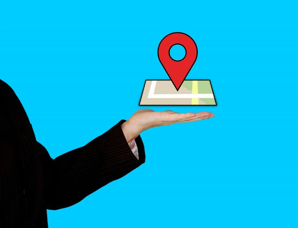 imagem ilustrativa pin de localização