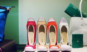 sapatos em exposição imagem ilustrativa de vendas diretas