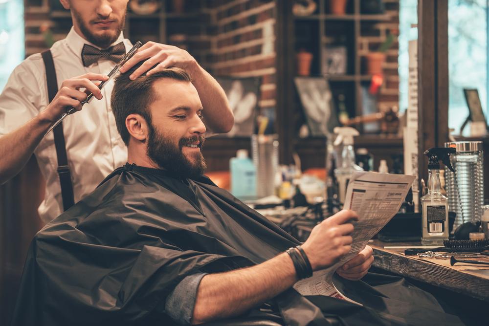 franquia de estética masculina barbearia
