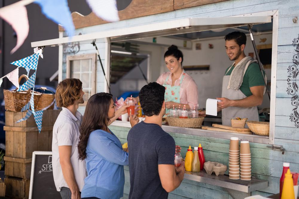 Food truck mercado de food service