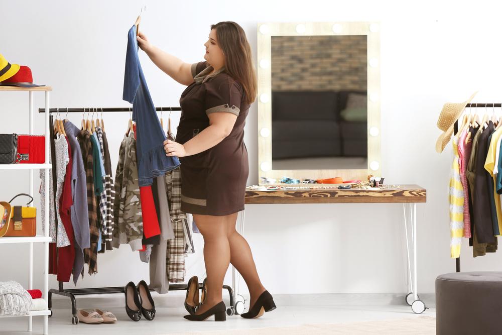 loja de roupas plus size