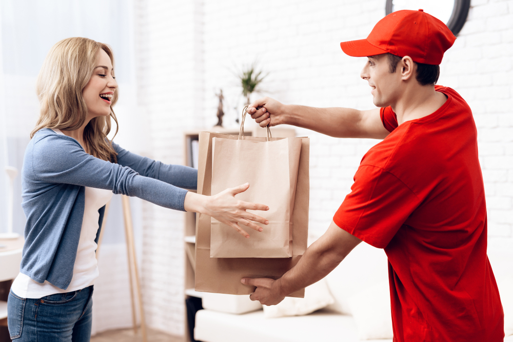 entrega de compras franquia delivery