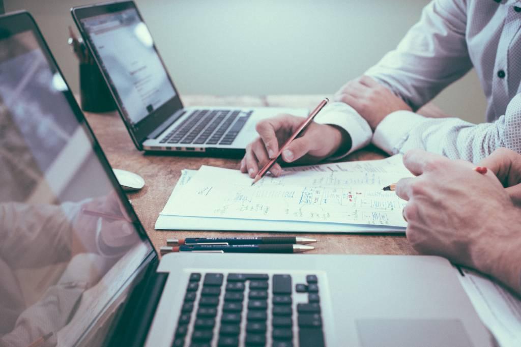 papeis notebook planejamento franquias virtuais