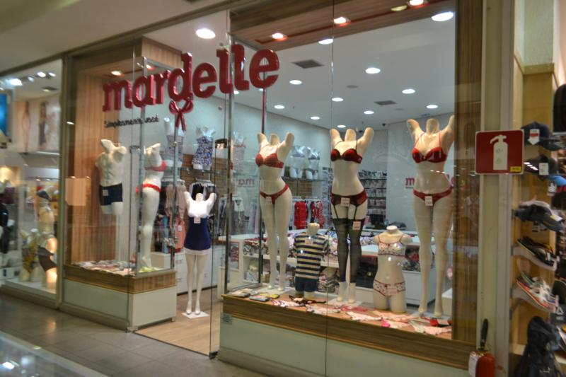 franquia de roupas Mardelle loja de shopping