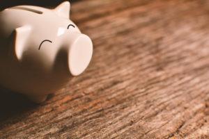 Franquia de banco: cofre em forma de porquinho