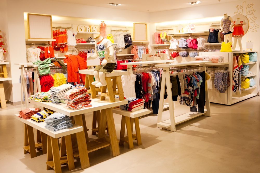 loja de roupas imagem ilustrativa franquia de roupas