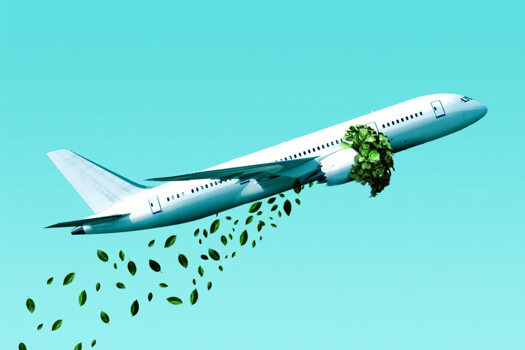 avião sustentabilidade tendencias para empreender franquias